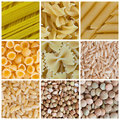 Pasta And Legumes Stock Image - 19548111