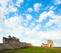 Spring Ancient Fortress Ruins Stock Image - 19548231