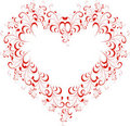 Floral Heart Royalty Free Stock Photography - 19568417