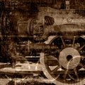 Old Machinery Illustration Royalty Free Stock Photo - 19581825