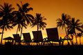 Tropical Sunset Stock Photography - 19592772