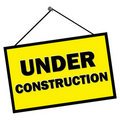 Under Construction Sign Royalty Free Stock Photo - 19600945