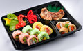 Japanese Bento Lunchbox Isolated  Royalty Free Stock Images - 19605179