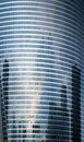 Reflexion In Windows Of Rounded Glass Tower Stock Images - 19644564