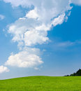 Green Meadow And Blue Sky Stock Photos - 19655133