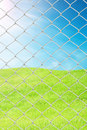 Chain Link Fence Royalty Free Stock Image - 19659456