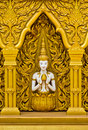 Thai Art On The Wall Stock Image - 19660641