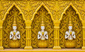 Thai Art On The Wall Stock Images - 19660694