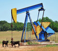 Oil Well Pumper Stock Images - 19667064