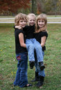 Three Children Royalty Free Stock Image - 19669756