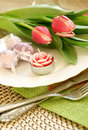 Easter Composition On A Table Stock Images - 19694164