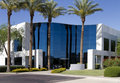 New Modern Corporate Office Building Entrance Stock Image - 19698121