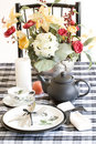 Table Setting, Black And White Stock Images - 1975484