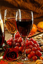 Red And White Wine. Stock Photography - 19709092