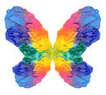 Abstract Painting Butterfly Royalty Free Stock Photos - 19725508