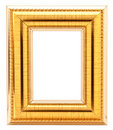 Gold Frame Royalty Free Stock Photography - 19735697