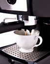 Expresso Coffee Machine Royalty Free Stock Photography - 19735707