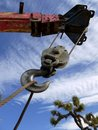 Well-drilling Truck: Crane Hook Royalty Free Stock Photo - 19751115