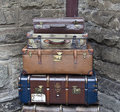 Old Suitcases Stock Images - 19766624