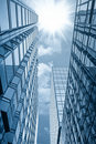 Glass Building Under The Sun Royalty Free Stock Photography - 19775547