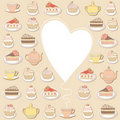 Sweets Frame. Stock Images - 19797064