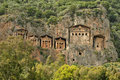 The Rock-tombs Stock Photography - 19821632