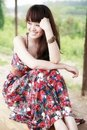 Asian Beauty Outdoor Royalty Free Stock Photos - 19834608