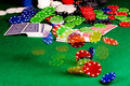 Poker Gear Motion Royalty Free Stock Photos - 19851378