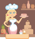 The Confectioner Royalty Free Stock Photo - 19859595