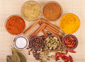 Spices And Herbs Royalty Free Stock Image - 19862226