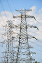 High-tension Line And Transformer Stock Photo - 19876380