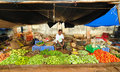 Farmers Market In India Royalty Free Stock Image - 19902206