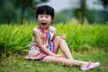 Chinese Lovely Girl Stock Image - 19928211