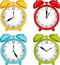 Classic Alarm Clock On Background Stock Photography - 19942822