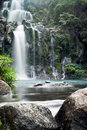 Mountainside Waterfall Royalty Free Stock Images - 19948999