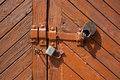 Old Door Lock Stock Photo - 19952130