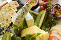 Fruit And Cheese Platter Stock Photos - 19968493