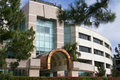 Beautiful New Corporate Office Building Entrance Stock Photos - 19985253