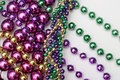 Mardi Gras Beads Stock Images - 2003274