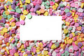 Valentines Heart Candy Background Royalty Free Stock Photography - 2006947