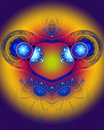 The Abstract Color Fractal Image. Royalty Free Stock Images - 2007459