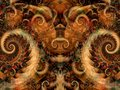 Symmetrical Fantasy Texture Stock Images - 2009264