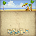 Vacation Background Stock Photography - 20000752