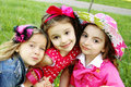 Three Little Friends Royalty Free Stock Images - 20004169