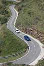 Serpentine Road In Pyrenees. Royalty Free Stock Image - 20016416
