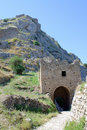 Acrocorinth Ruins Royalty Free Stock Photos - 20022248