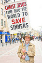 An Evangelist In Inverness. Royalty Free Stock Images - 20030839