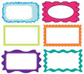 Set Of Colorful Frames Royalty Free Stock Photo - 20054345