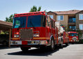 Fire Truck And Engine Royalty Free Stock Photo - 20092395