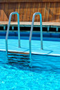 Swimming Pool Ladder Stock Images - 20108154
